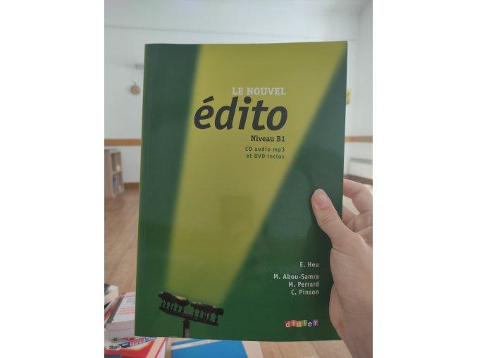 Édito (učebnice francouzštiny)