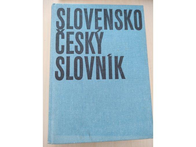 Slovensko-český slovník