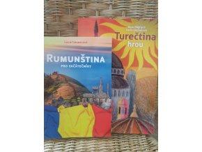 Balíček: Poznej rumunštinu a turečtinu s tužkou v ruce