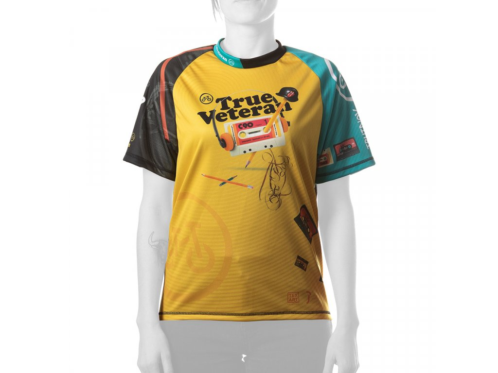 Enduro jersey True Veteran WMN short blue 01