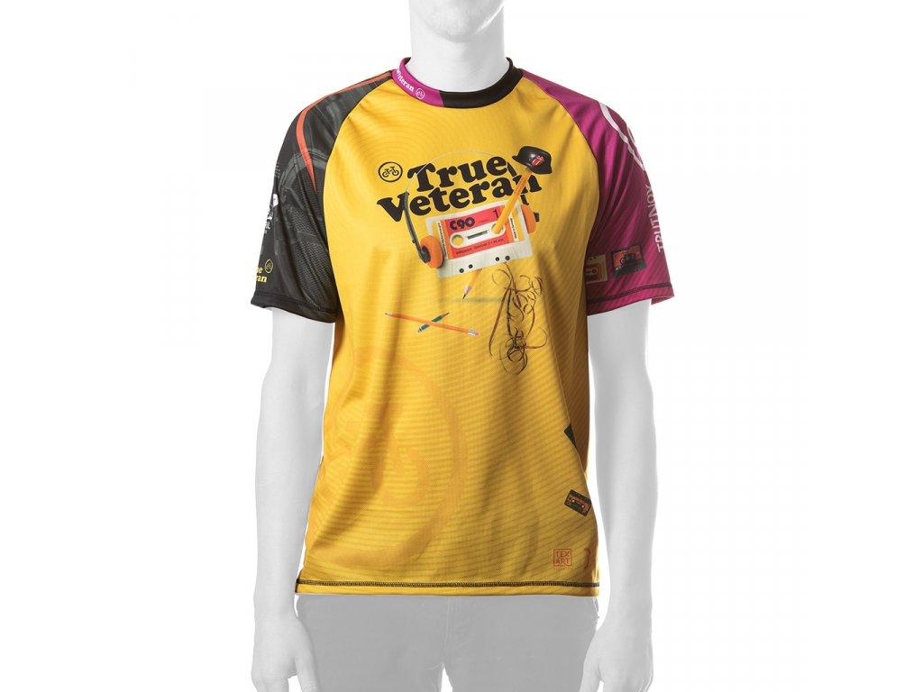 Enduro jersey True Veteran MAN short pink 01