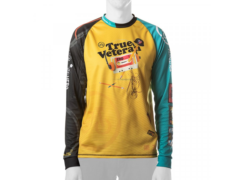Enduro jersey True Veteran MAN long blue 01