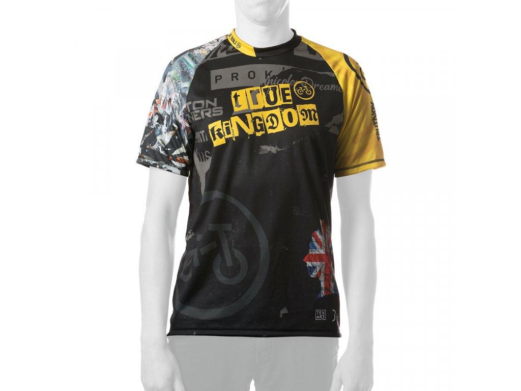 Enduro jersey True Kingdom MAN short 01