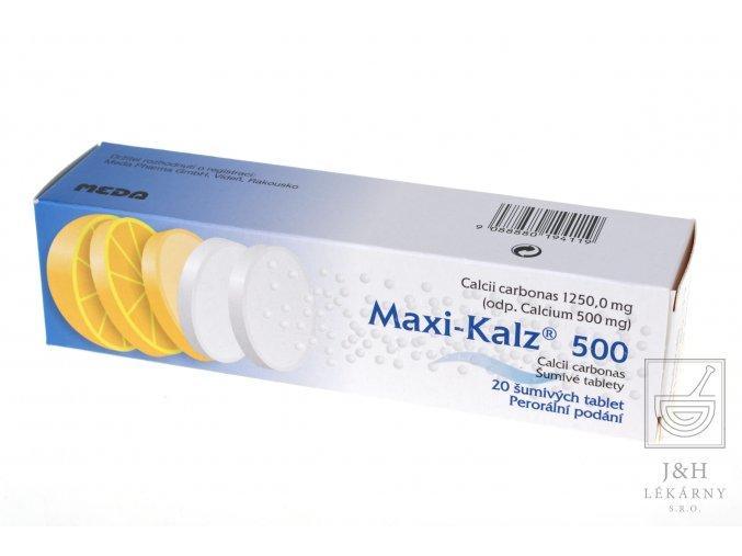 Maxi-Kalz 500 por.tbl.eff.20x500mg