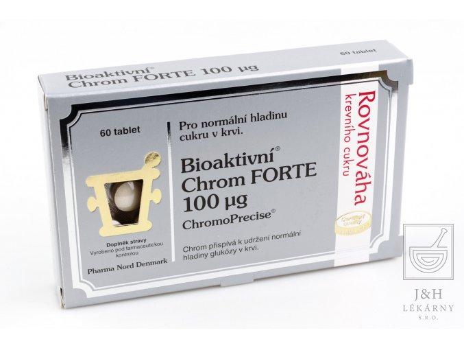 Bioaktivní Chrom FORTE 100mcg tbl.60