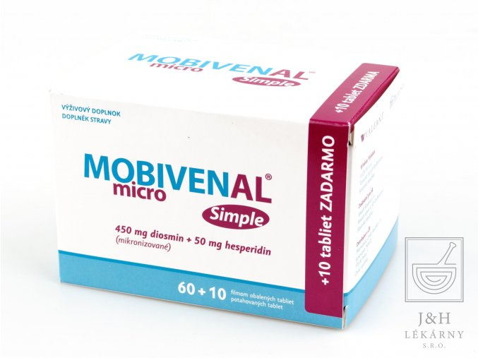 MOBIVENAL micro Simple tbl.60+10 zdarma