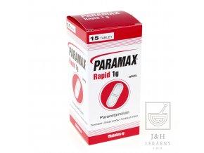 Paramax Rapid 1g por.tbl.nob. 9x15x1000m display