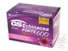 GS Echinacea FORTE 600 tbl.70+20