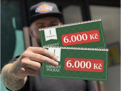 Věrnostní kredit v hodnotě 6.600,-Kč  Jako bonus 10% navíc!