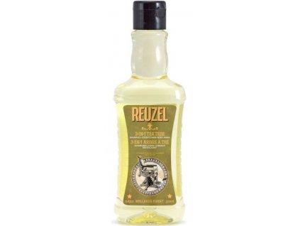 reuzel 3 in 1 tea tree shampoo conditioner body wash