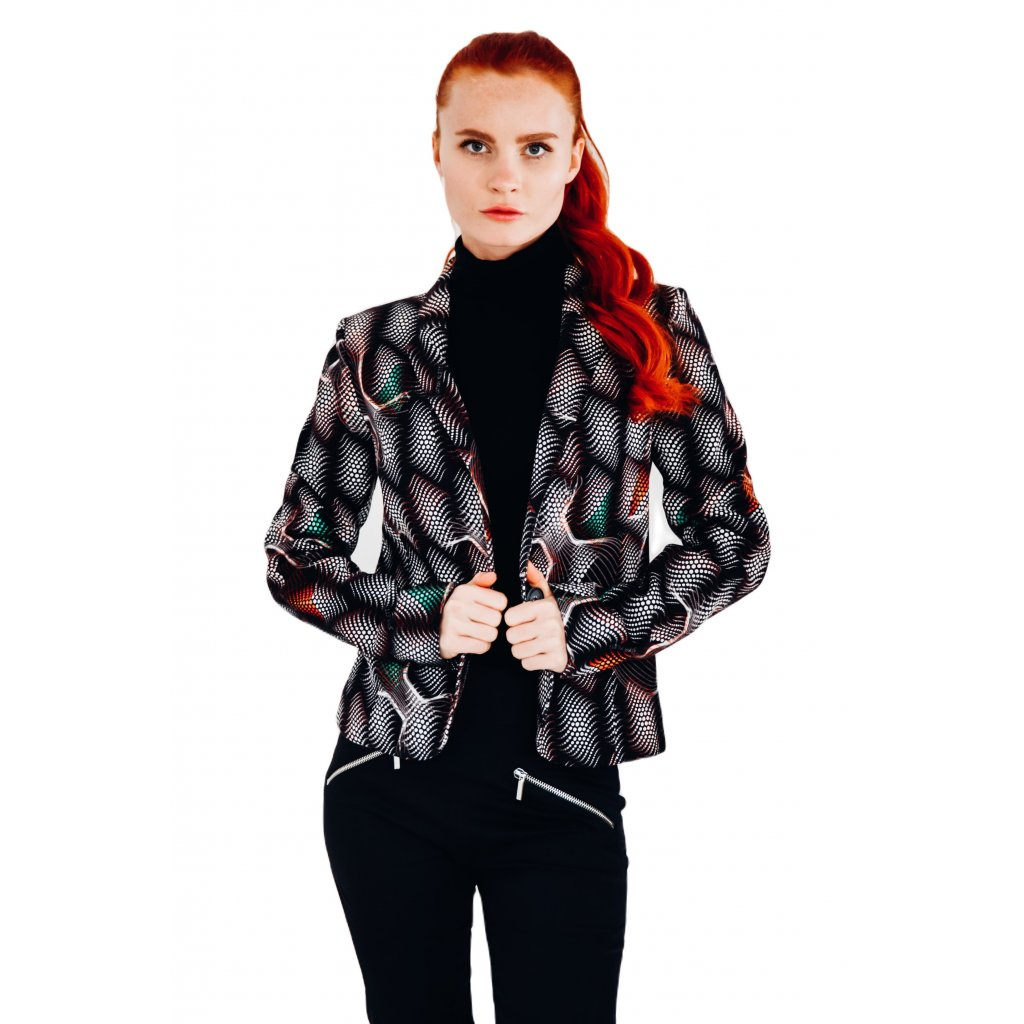 Boucle - cotton jacket MATRIX