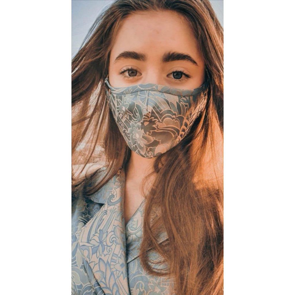 JK Klett Designer cotton face mask – Inspira