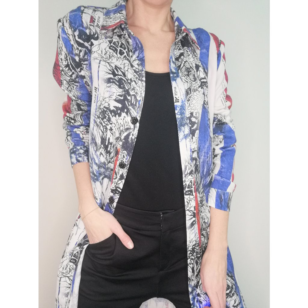 JK Klett LIBERTA shirt dress/coat