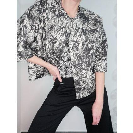 JK Klett one button wool-blend LIBERTA blazer