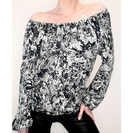 JK Klett lightweight LIBERTA blouse with elasticated neckline