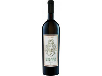 Pinot blanc Kwitelberg 2016