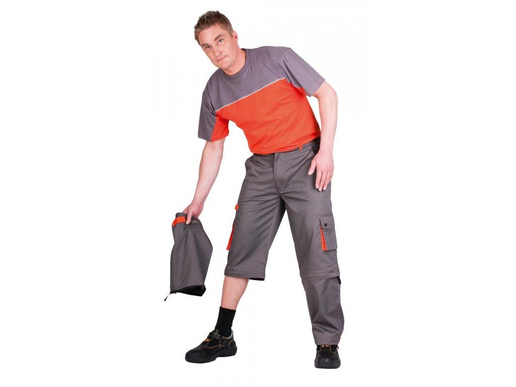 Montérkové kalhoty do pasu 2 v 1  DESMAN