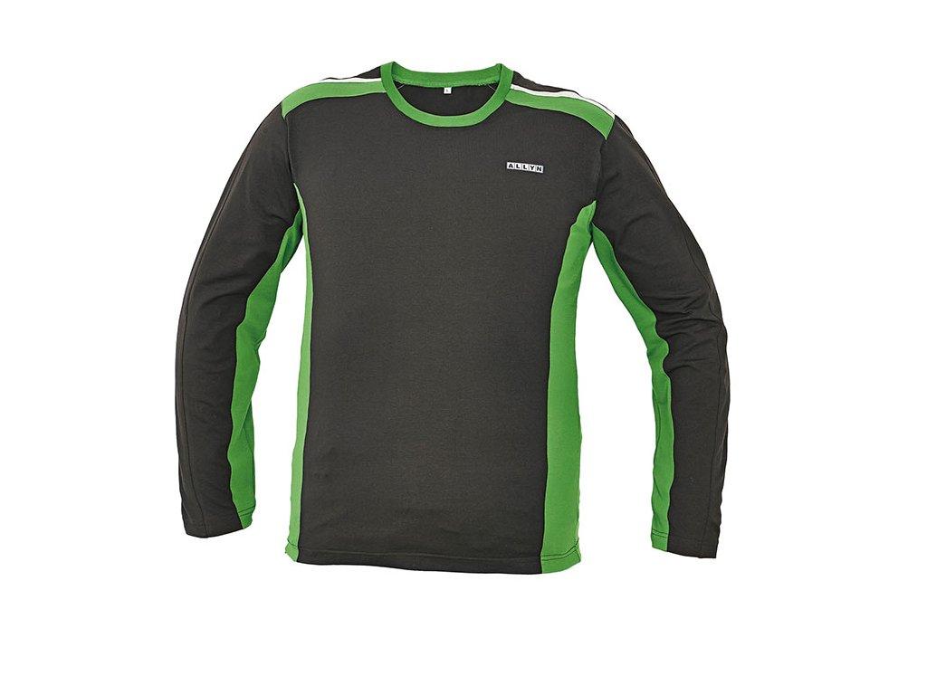 85a05c71f94 Tričko s dlouhým rukávem ALLYN zelená - Pracovní oděvy Jiří Vyskočil
