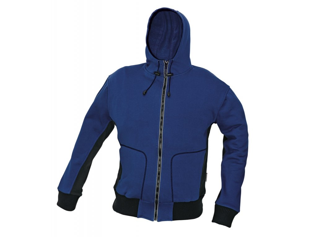 Mikina s kapucí STANMORE modrá