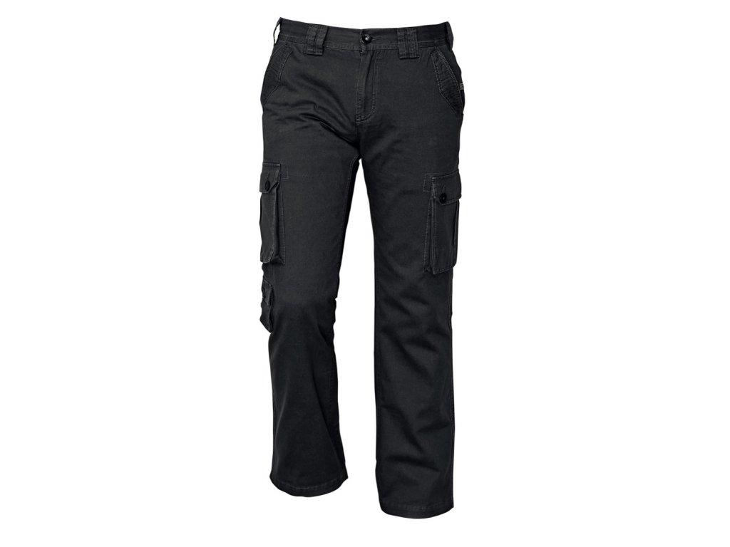 Kalhoty volnočasové CHENA černá