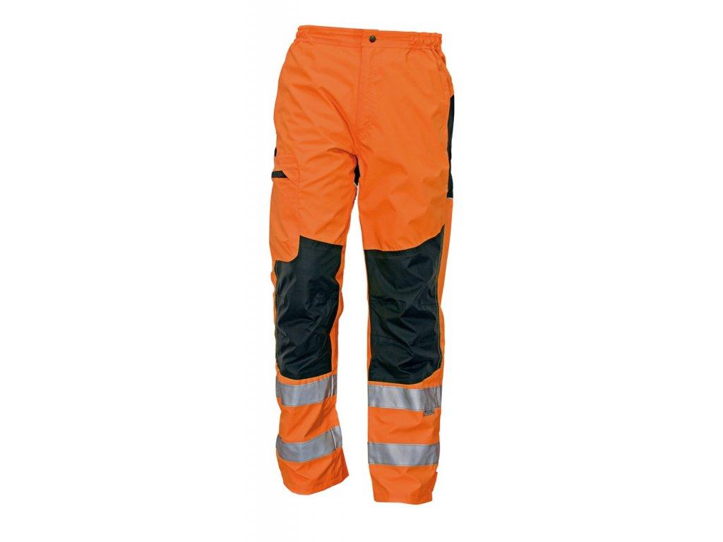 Kalhoty do pasu reflexní TICINO oranžová