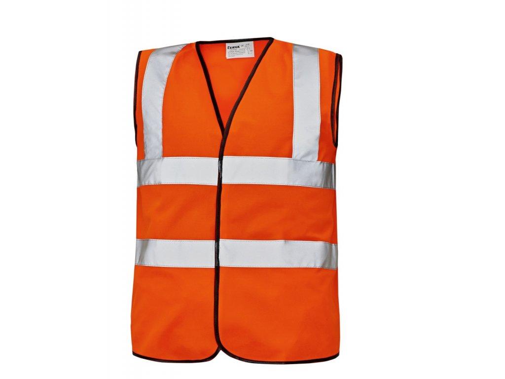 Reflexní vesta LYNX PLUS oranžová