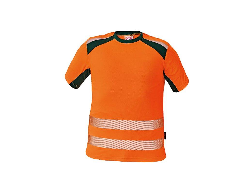 c744f5f5cd9 Reflexní tričko ALLYN HV oranžová - Pracovní oděvy Jiří Vyskočil