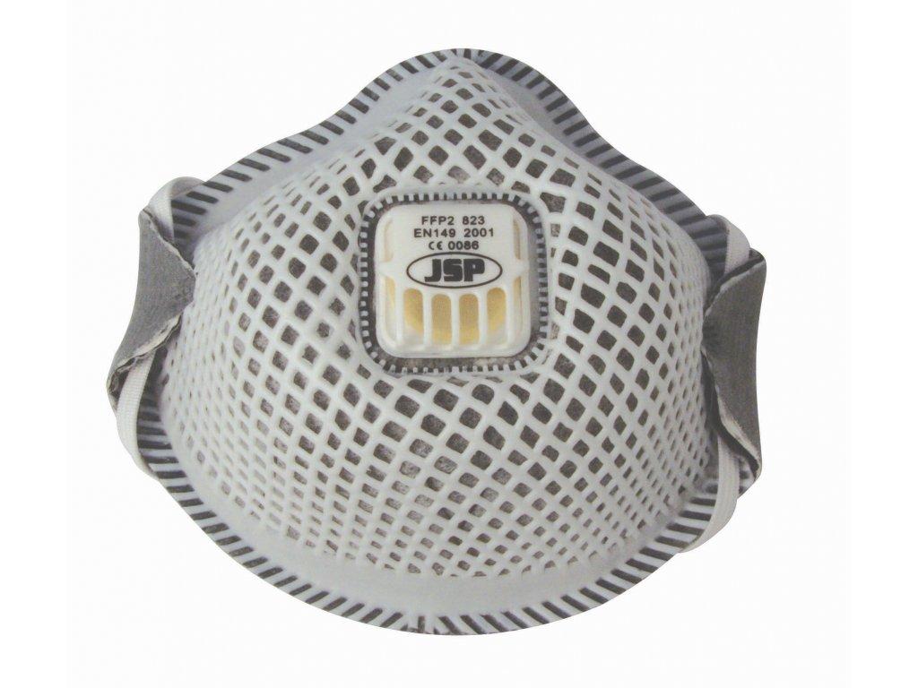 Filtrační polomaska (respirátor) JSP FLEXINET FFP2/823