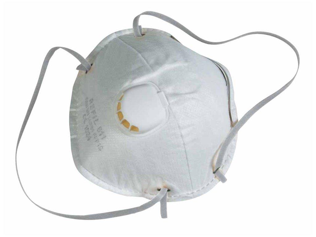 Filtrační polomaska (respirátor) REFIL 831 FFP2