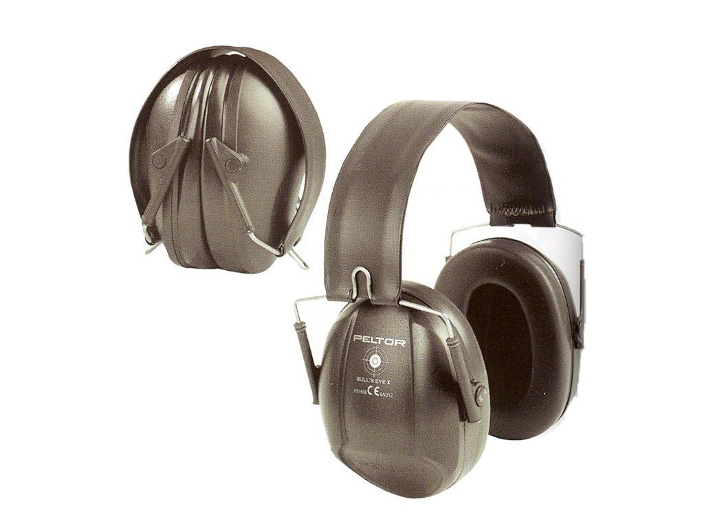 Mušlový chránič sluchu PELTOR H515FB-516-SV BULL´S EYE I
