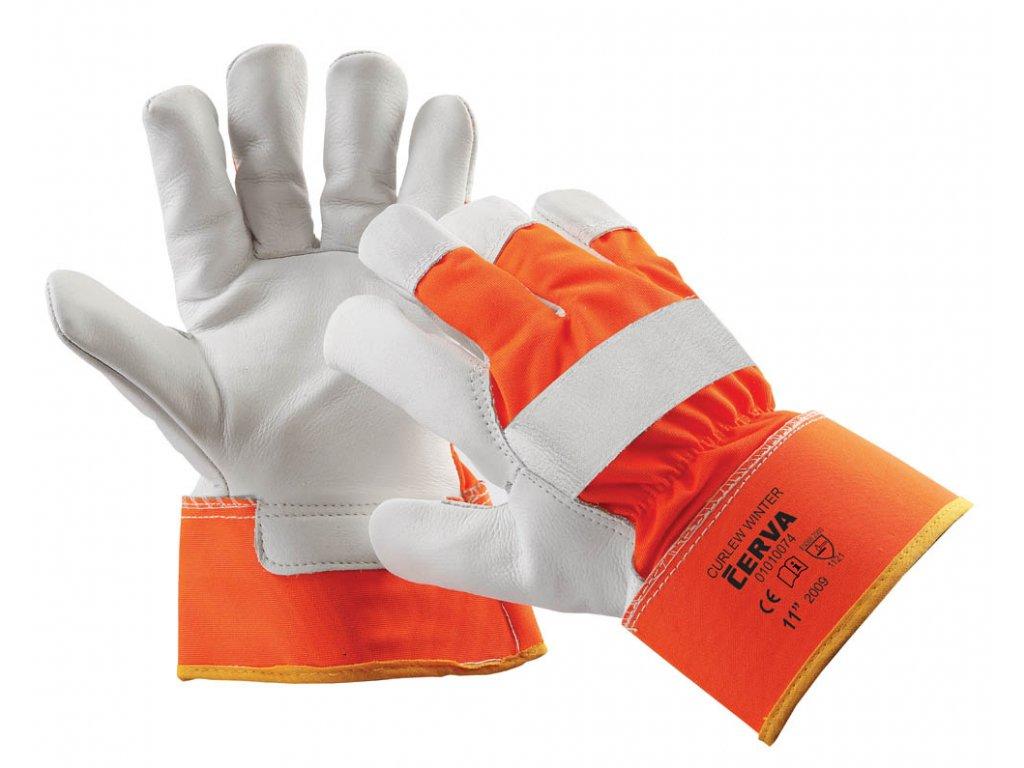 Pracovní rukavice kombinované CURLEW WINTER - Pracovní oděvy Jiří ... 0017a6fbef