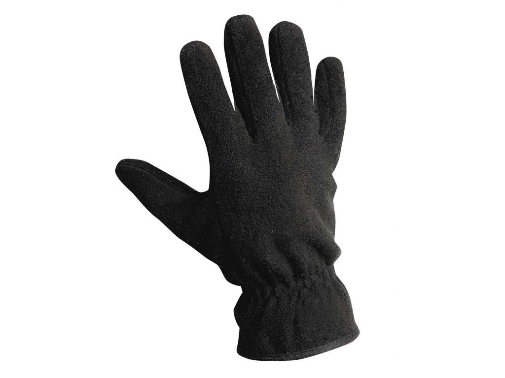 Pracovní rukavice šité zateplené MYNAH