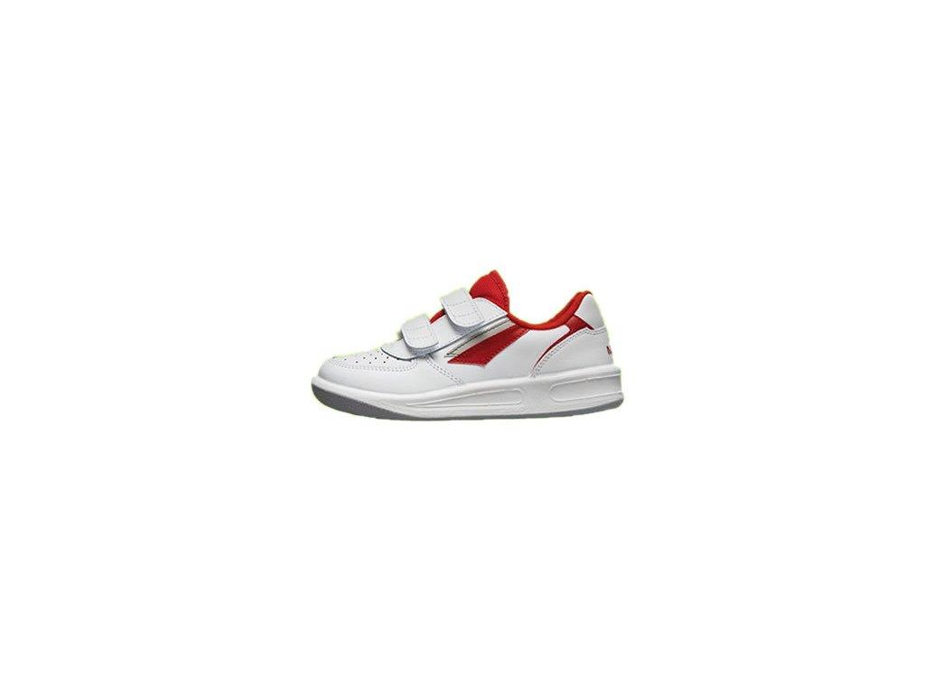 PRESTIGE M66759-10 dětské suchý zip bílá červená - Pracovní oděvy ... f3a10dee641