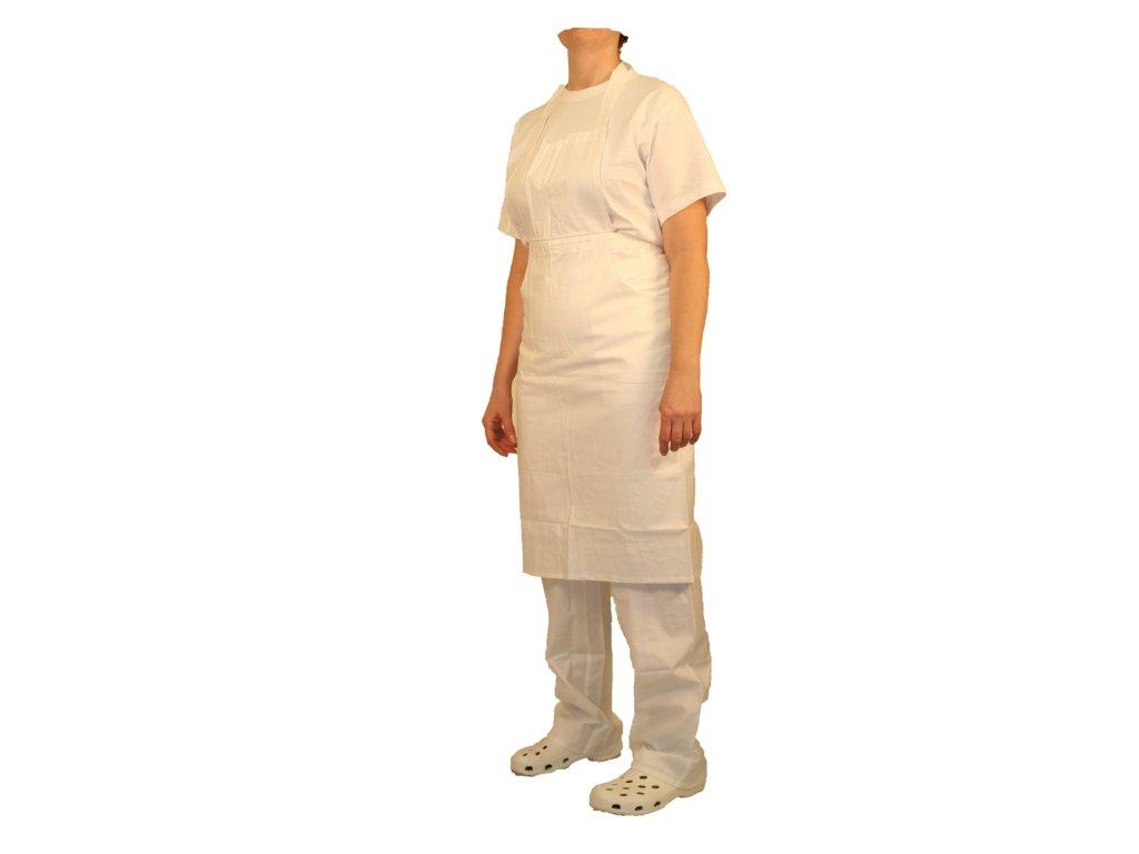 Zástěra dámská s laclem pro kuchařky 67.01