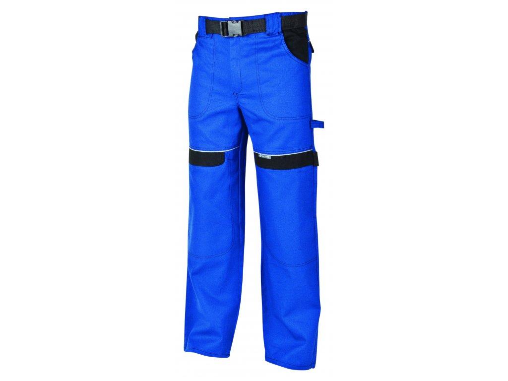 Montérkové kalhoty do pasu COOL TREND modrá/černá