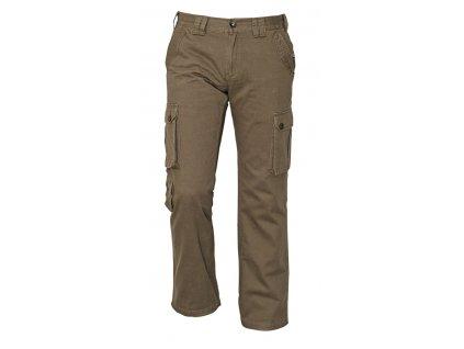 Kalhoty volnočasové CHENA olivová