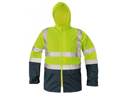 Reflexní bunda EPPING žlutá-modrá