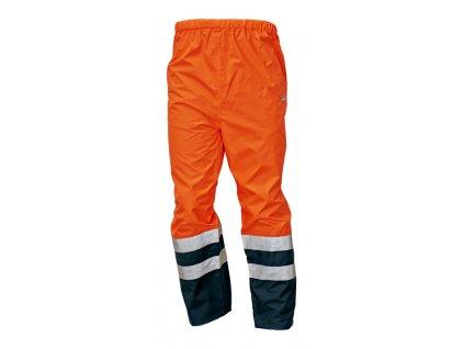 Kalhoty do pasu reflexní EPPING NEW oranžová-modrá