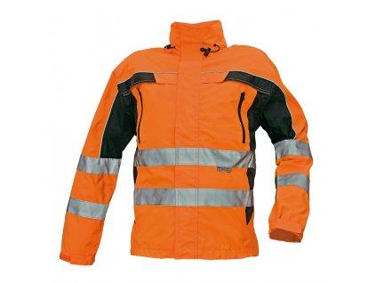 Reflexní bunda TICINO oranžová