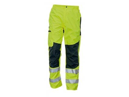Kalhoty do pasu reflexní TICINO žlutá