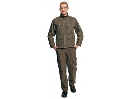 Kalhoty do pasu UKARI khaki