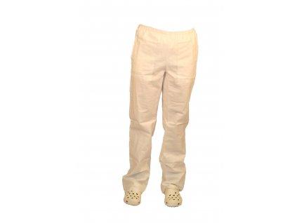 Kalhoty dámské lékařské bílé 471.01