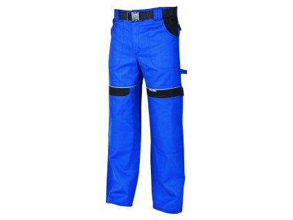 Montérkové kalhoty do pasu COOL TREND na 194 cm modrá/černá