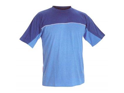 Triko s krátkým rukávem STANMORE světle modrá/tmavě modrá