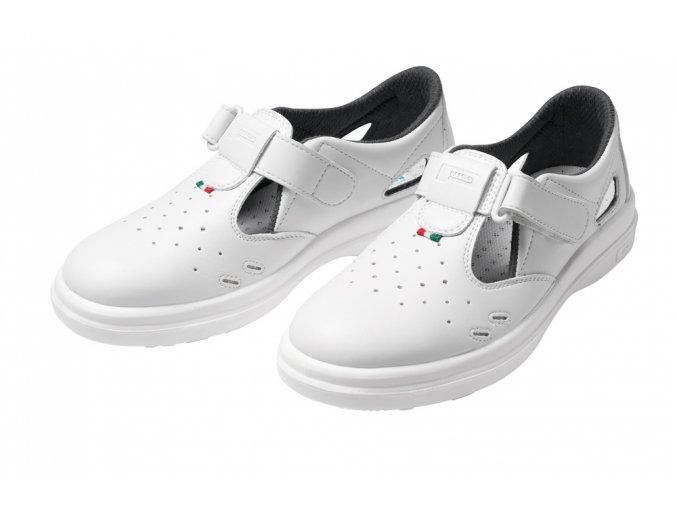 Panda sanitary sandál bílý S1 LYBRA