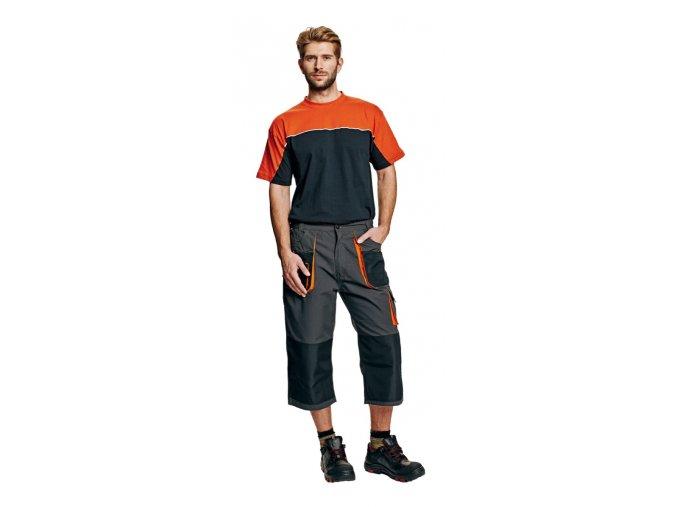 Montérkové kalhoty do pasu 3/4 EMERTON