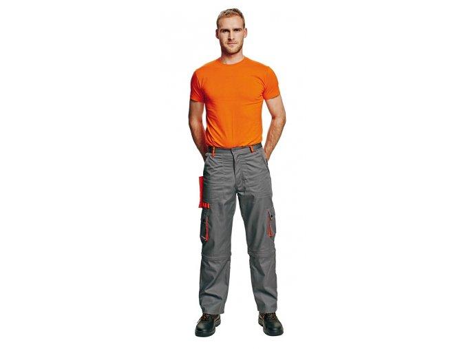 Montérkové kalhoty do pasu  DESMAN