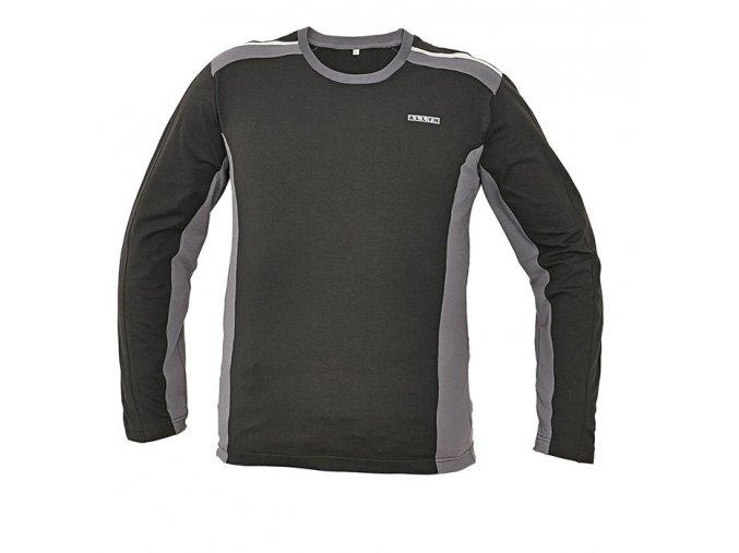 Tričko s dlouhým rukávem ALLYN černá