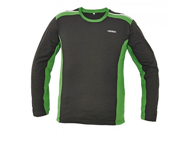 Tričko s dlouhým rukávem ALLYN zelená