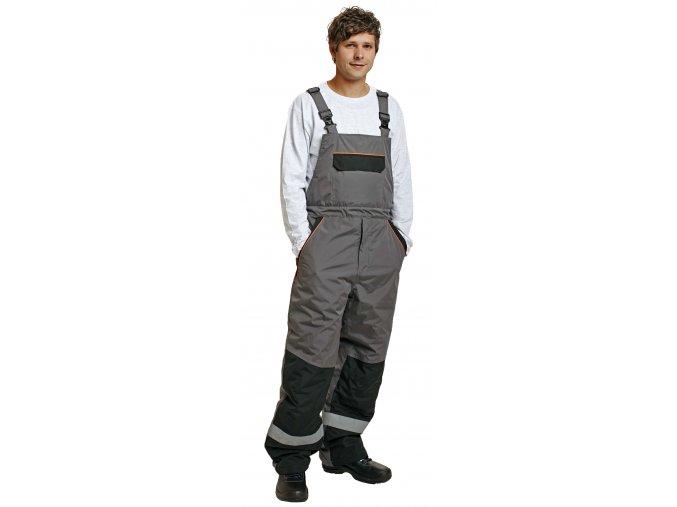Zimní kalhoty s laclem EMERTON
